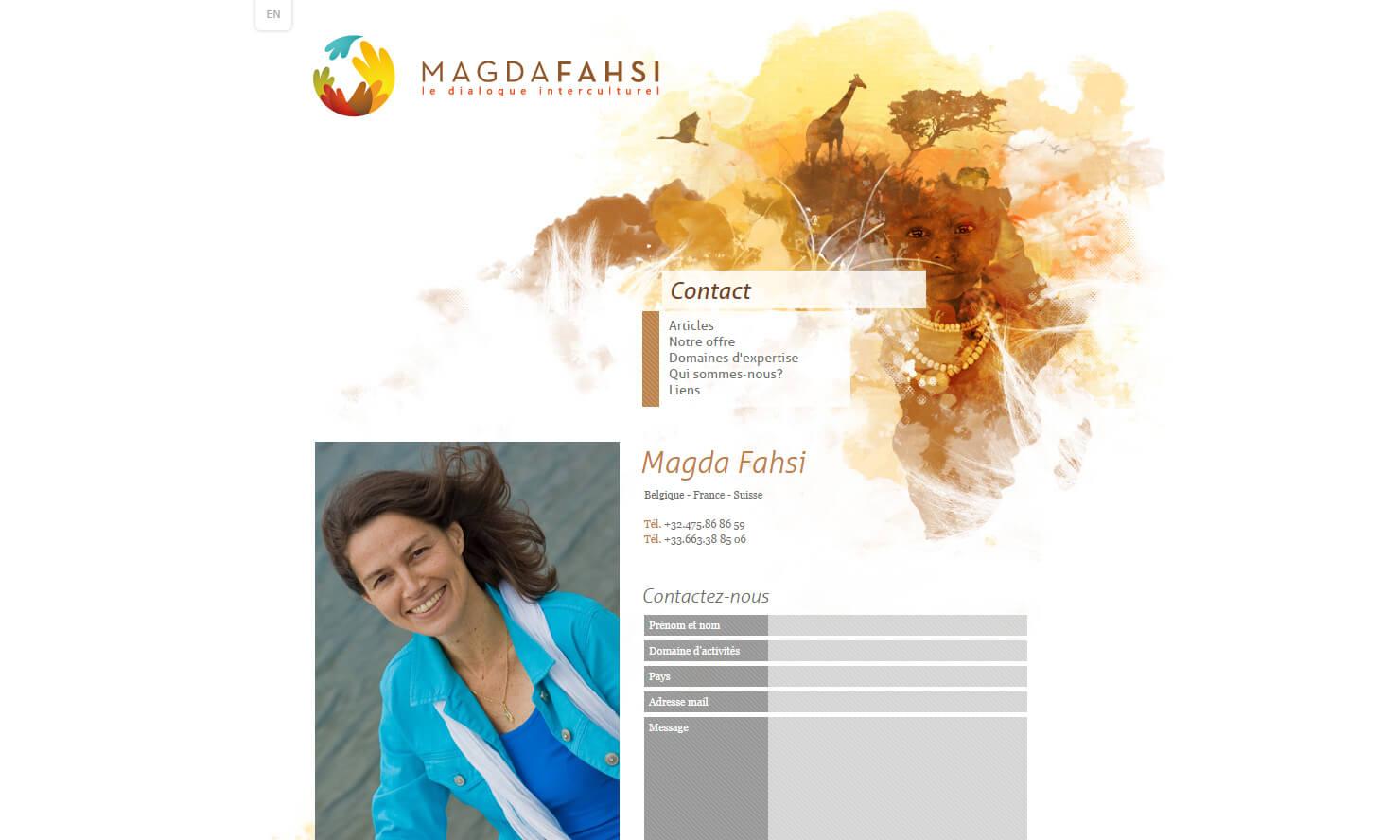 Contact - Magda Fahsi