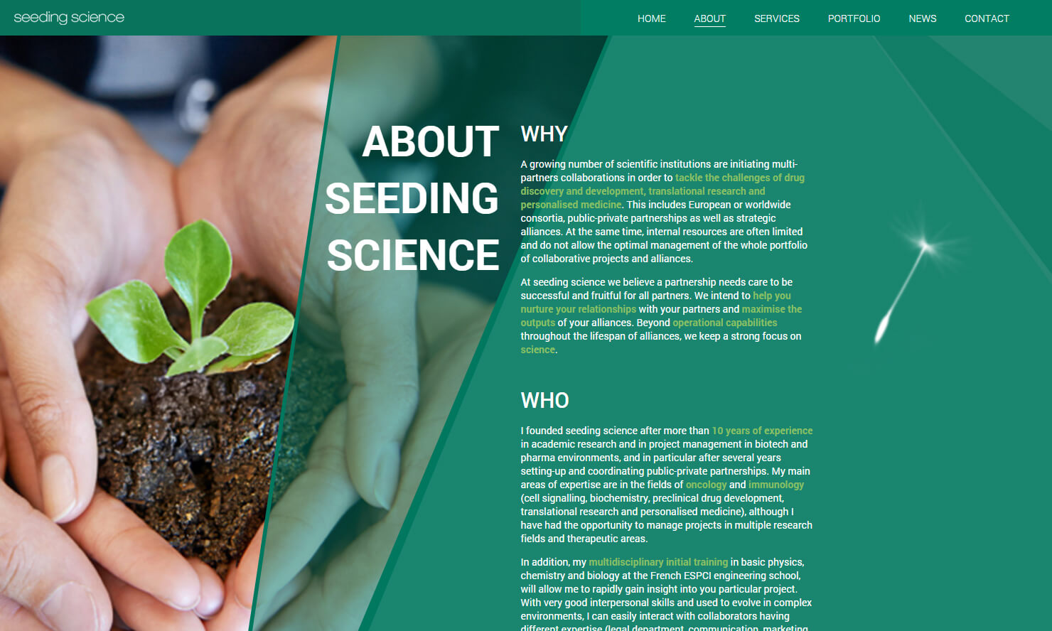 Seeding Science - About
